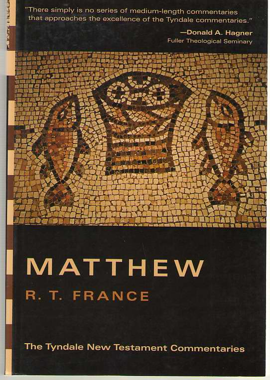 Image for Matthew An Introduction and Commentary