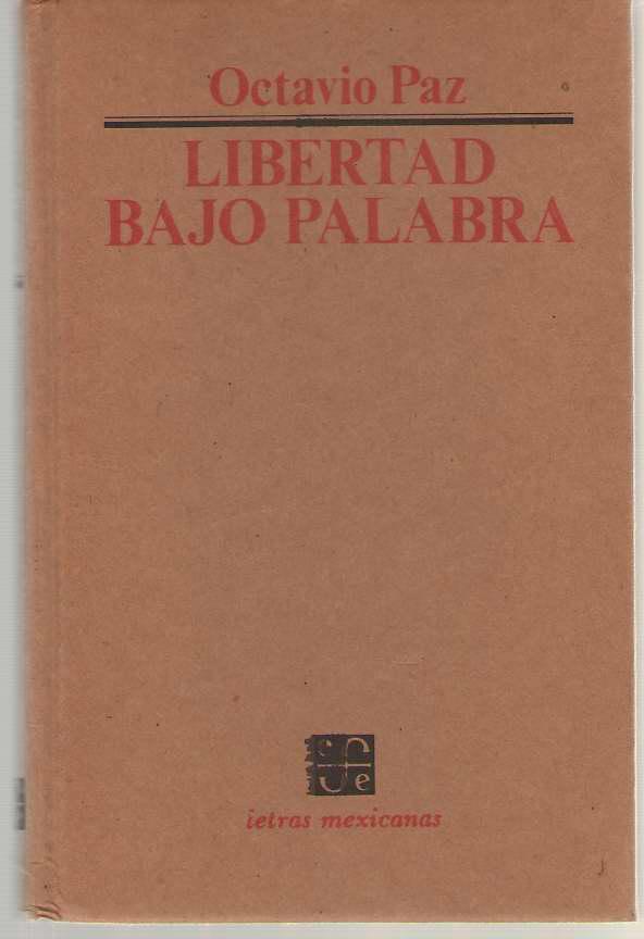 Image for Libertad Bajo Palabra