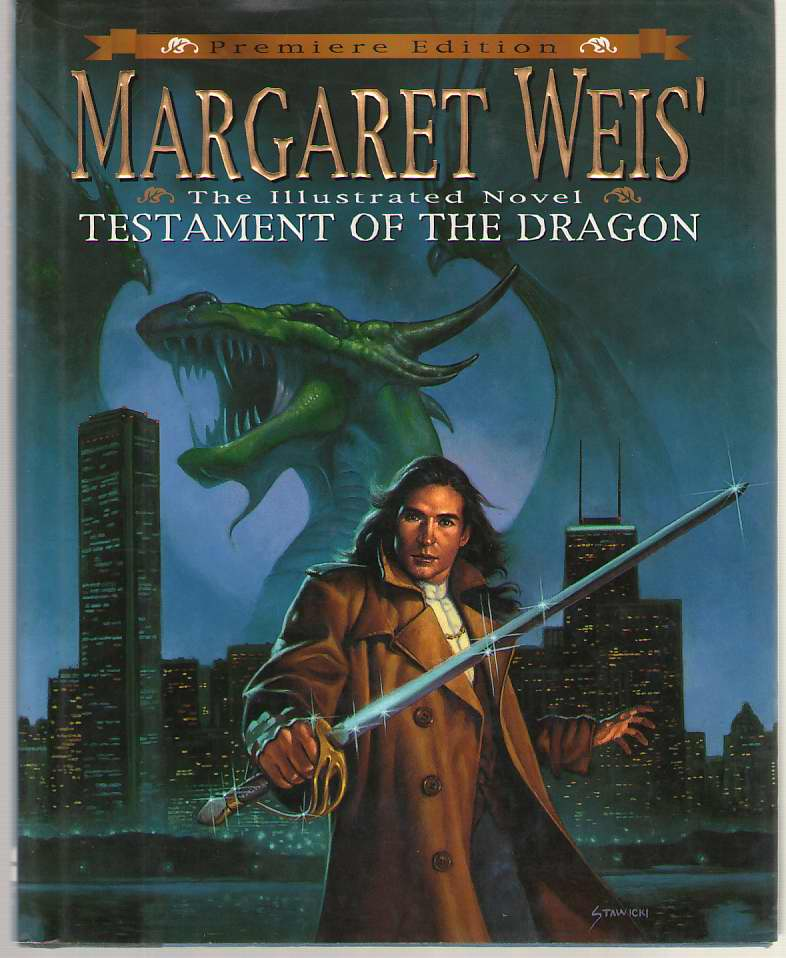 Image for Margaret Weis' Testament of the Dragon An Illustrated Novel