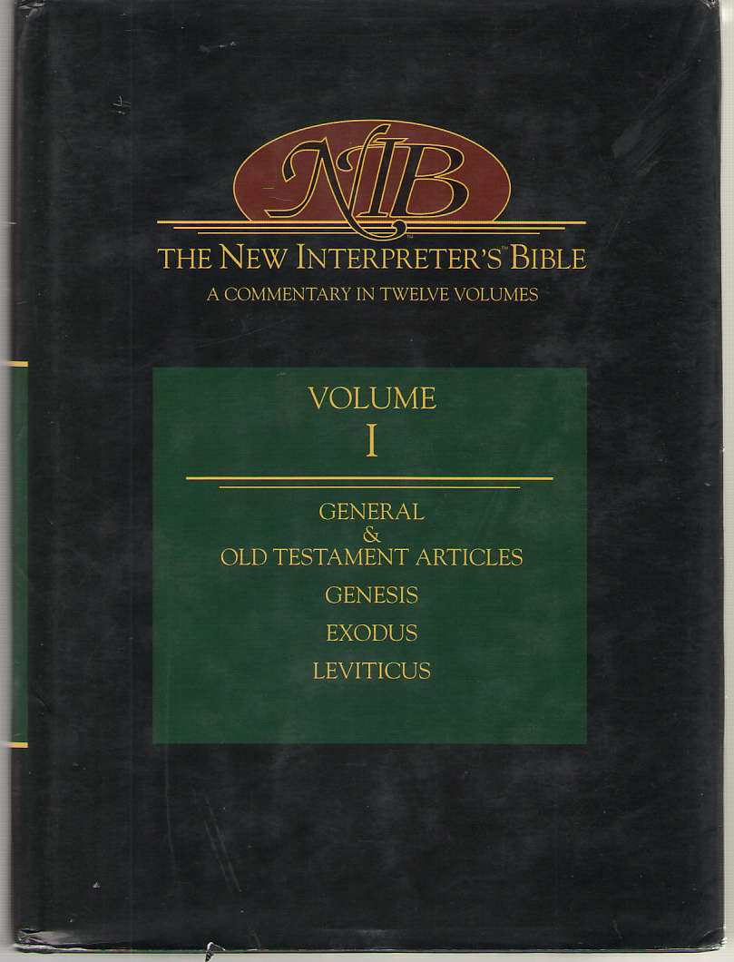 Image for The New Interpreter's Bible General Articles & Introduction, Commentary, & Reflections for Each Book of the Bible Including the Apocryphal/Deuterca: 1