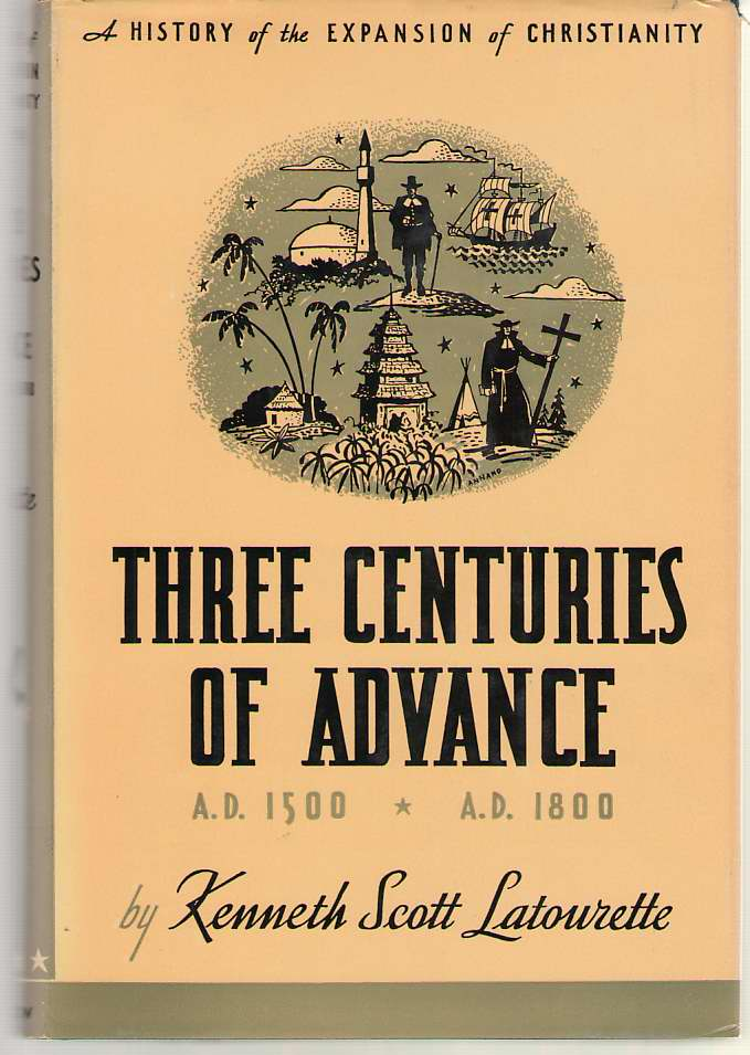 Image for Three Centuries Of Advance A. D.1500 - A. D. 1800