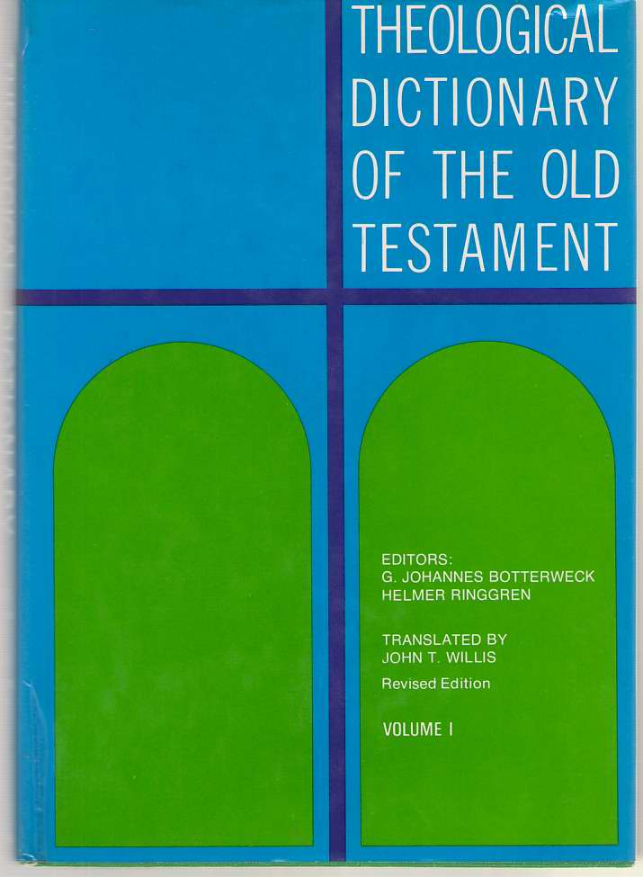 Image for Theological Dictionary of the Old Testament, Vol. 1