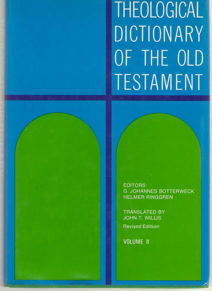 Image for Theological Dictionary Of The Old Testament, Vol. 2