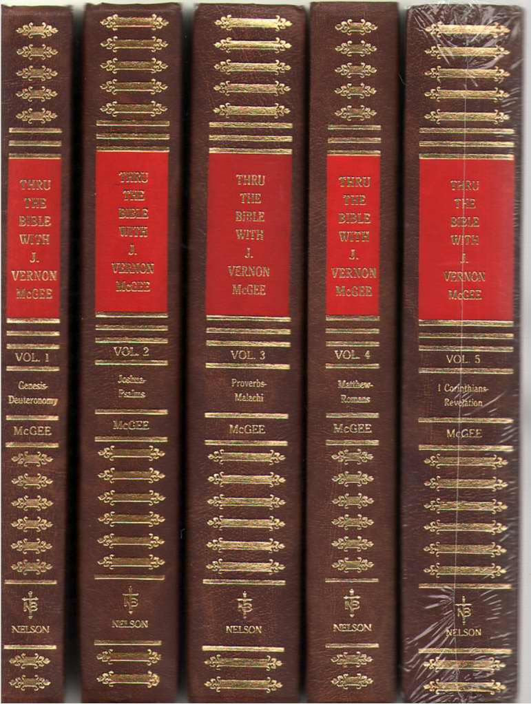 Image for Thru the Bible with J. Vernon McGee 5 Volume Set