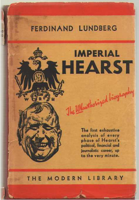 Image for Imperial Hearst A Social Biography