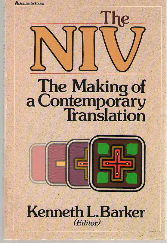 Image for The NIV The Making of a Contemporary Translation