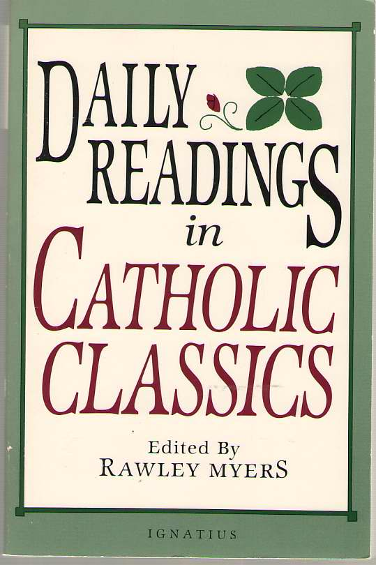 Image for Daily Readings in Catholic Classics