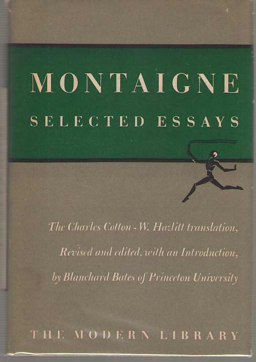 Image for Montaigne Selected Essays