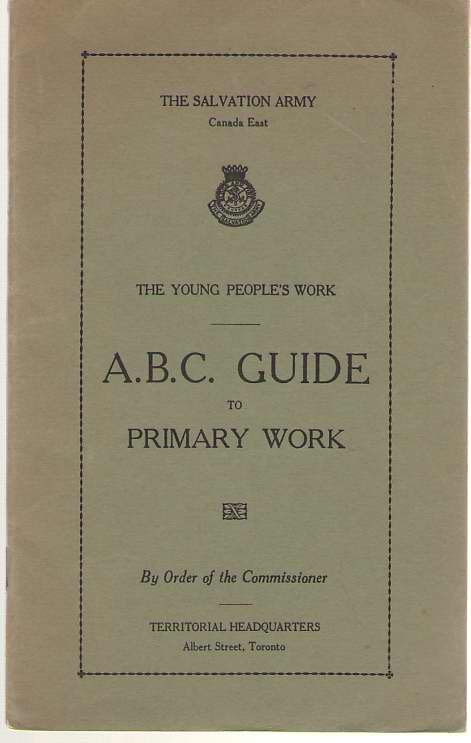 Image for A. B. C. Guide To Primary Work