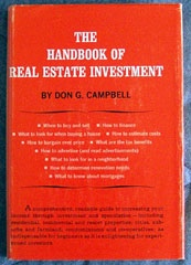 The Handbook Of Real Estate Investment , Campbell, Don G.