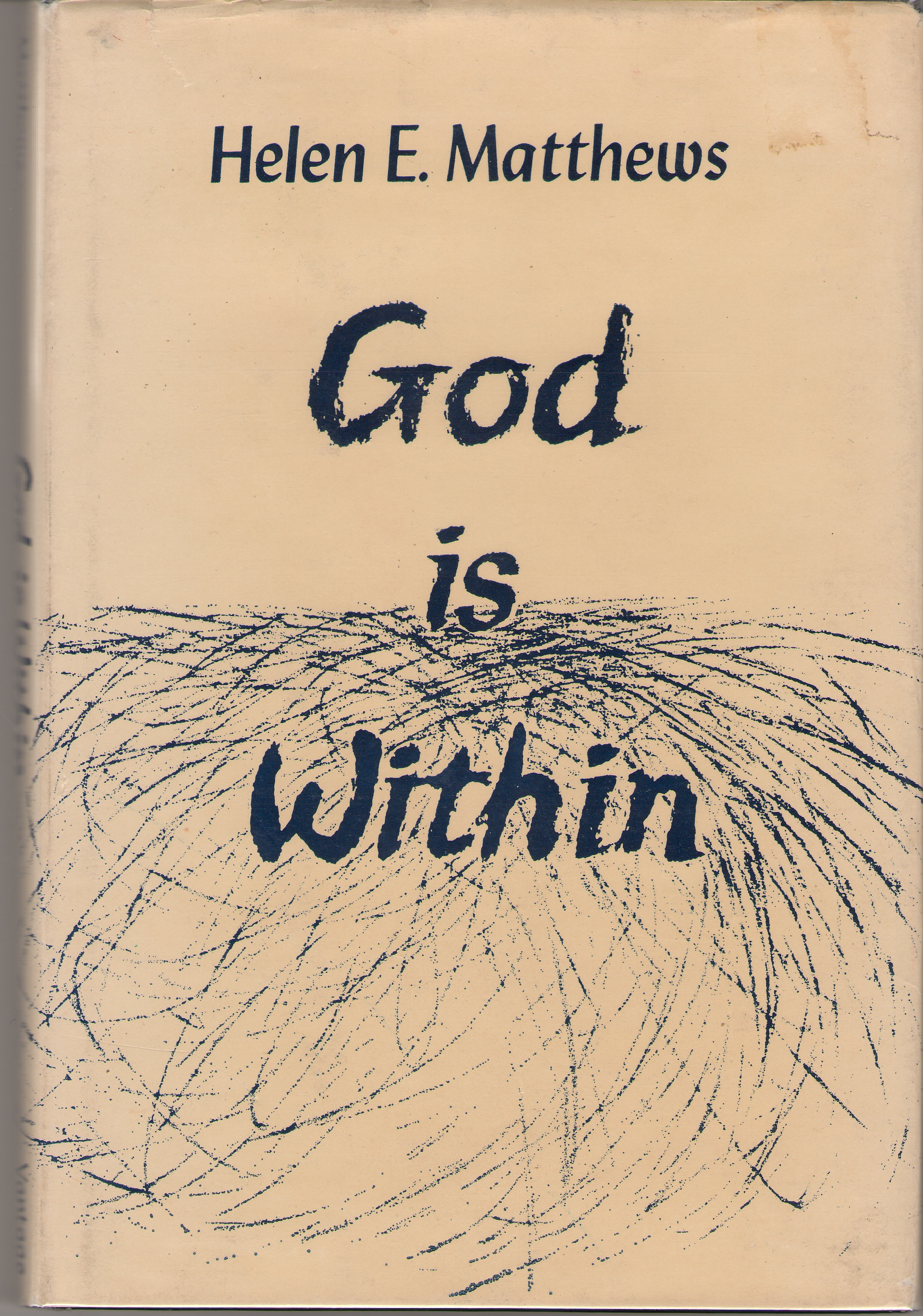 God Is Within And Other Poems, Matthews, Helen E.