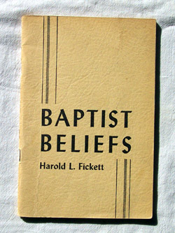 Image for Baptist Beliefs A Series of Seven Studies in Distinctive Doctrines