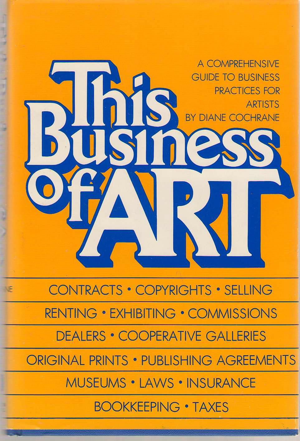 This Business Of Art, Cochrane, Diane