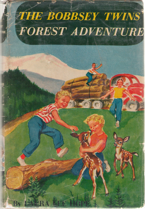 The Bobbsey Twins Forest Adventure, Hope, Laura Lee