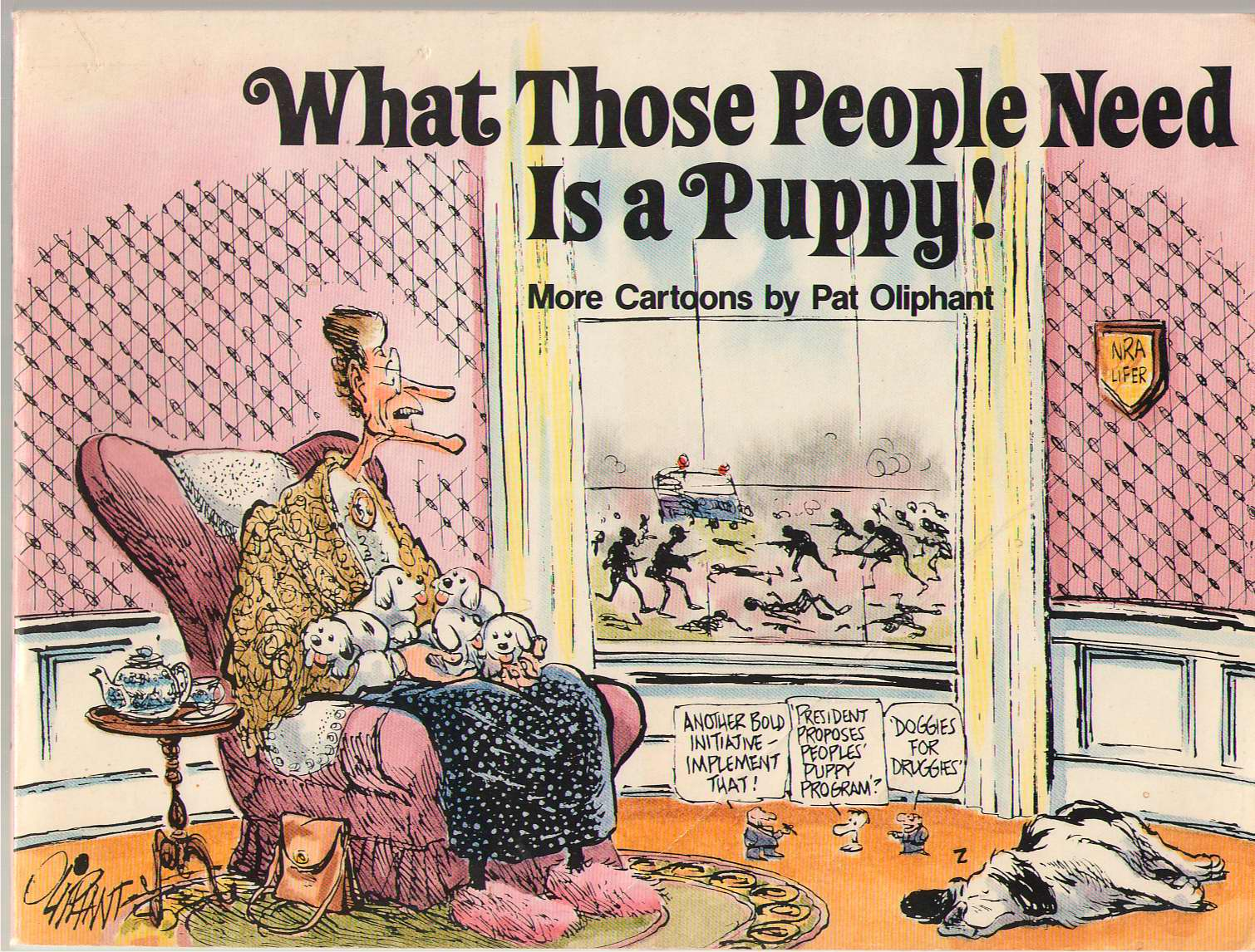 What Those People Need Is A Puppy, Oliphant, Pat