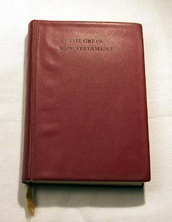The Greek New Testament , Aland, Kurt & Black, Matthew & Martini, Carlo M. & Metzger, Bruce M. & Wikgren, Allen